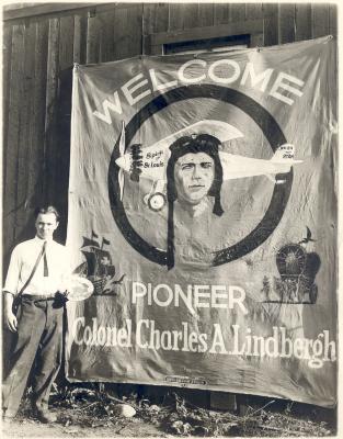 Lindbergh Banner
