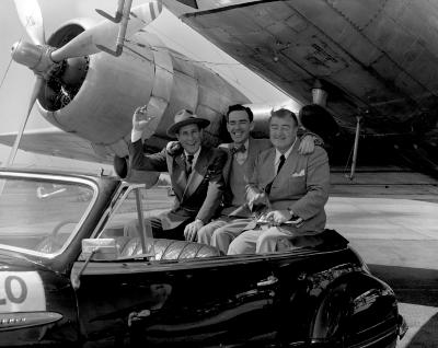 Abbot and Costello at Airport