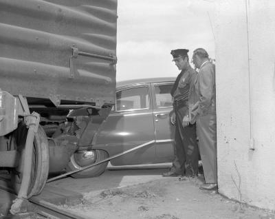 Accident, Train-auto
