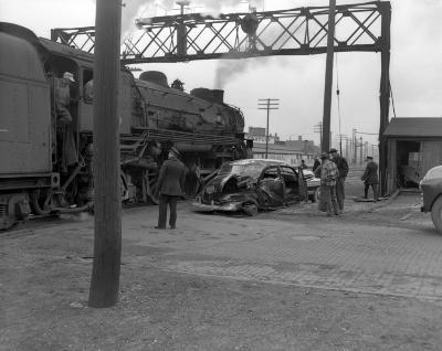 Accident, Train-car