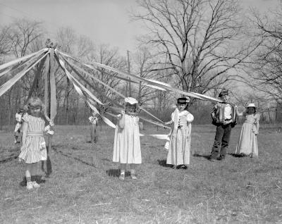 Ada, Michigan, school May Day
