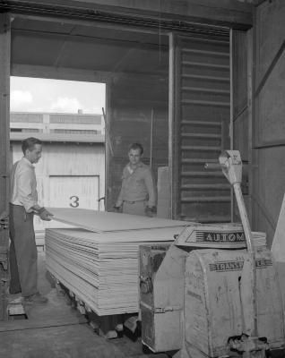 Aetna Plywood and Veneer Company. Interiors