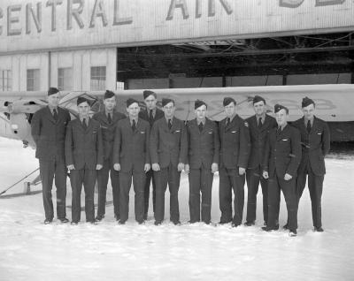 Air Cadets graduating class