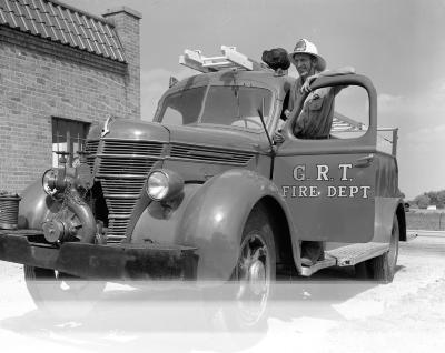 Adema homemade fire truck