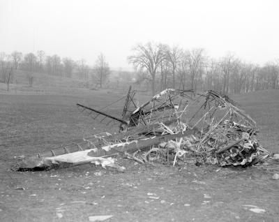Airplane crash near Rockford