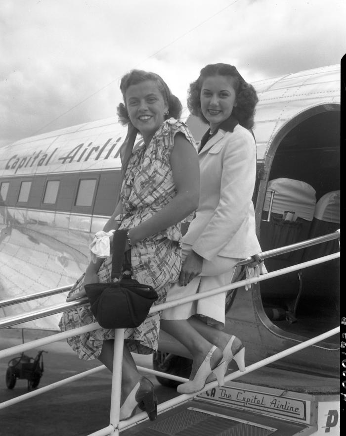 Airport Queen, Mary Webb