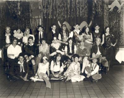 Halloween Party and  Dinner at Peninsular Club.