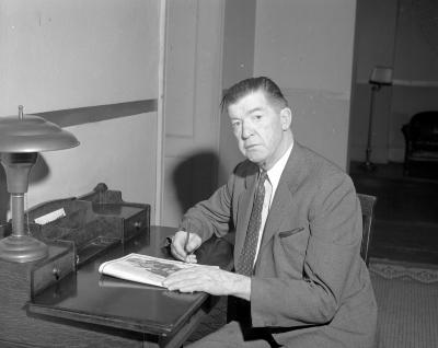 Grover Cleveland Alexander at Francis Hotel