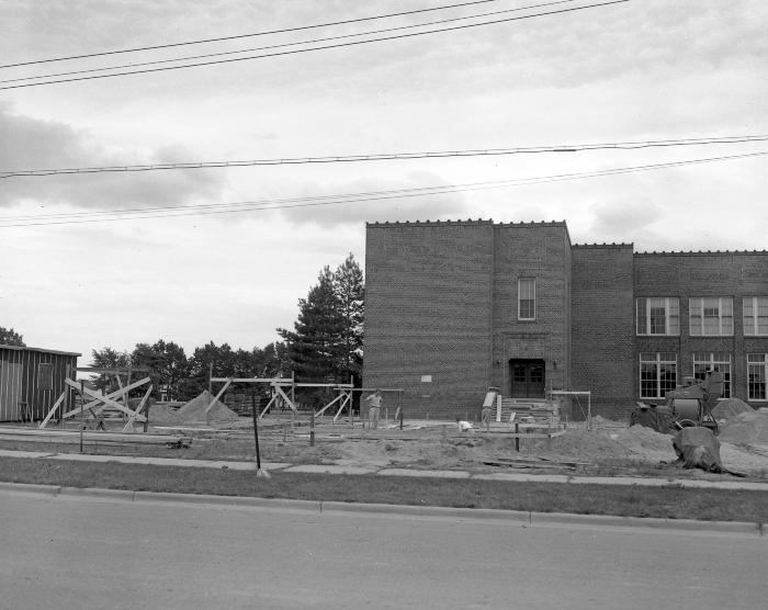 Alger School, new addition