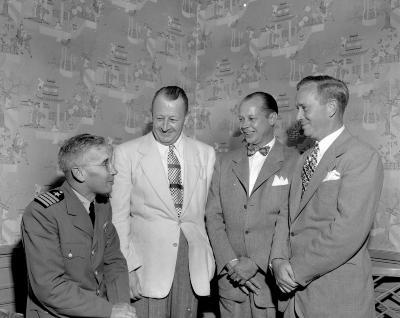 Allen, C.D., Naval reunion at Peninsular Club
