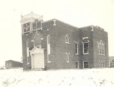 Galewood's new church