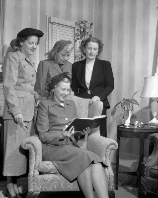American Association of University Women, Group at Mrs. Haviland