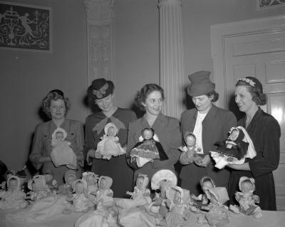 Alpha Club, Doll Show at Morton