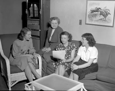 Almquist, Mrs. at Greenridge Country Club