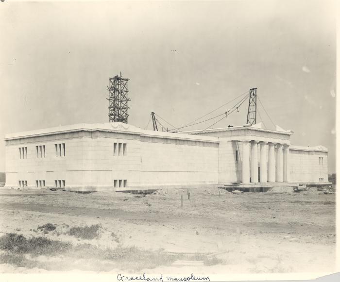 Graceland Mausoleum on Cascade Road