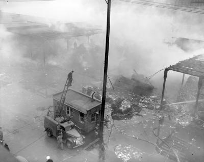 American Box Board Company, Fire--after