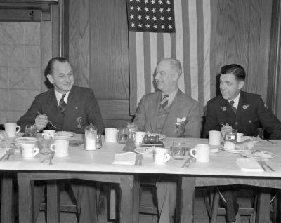 American Legion, Dinner at Elks Club
