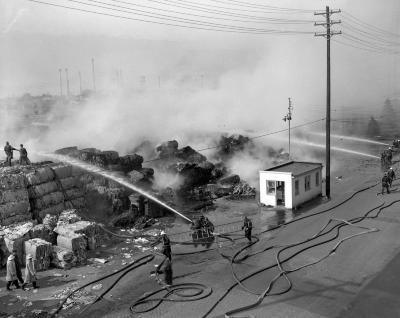 American Box Board Company, Fire