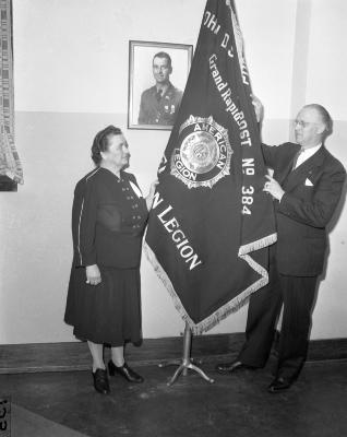 American Legion, Flag presentation