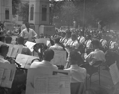American Legion, Band in Fulton Park