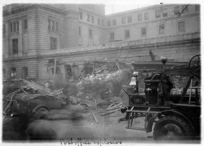 United States Post Office explosion