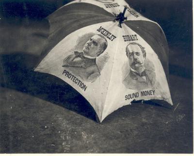 William McKinley Campaign Umbrella