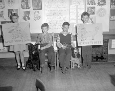 Animal Week, children and dogs