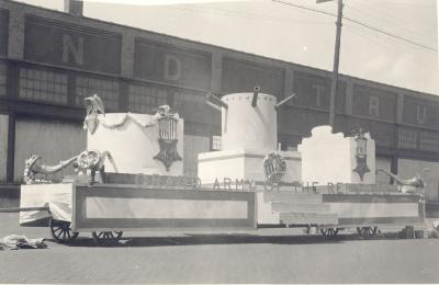 Grand Army of the Republic float