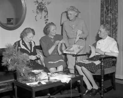 Anti Tuberculosis Society, Blue Bird Sewing Club