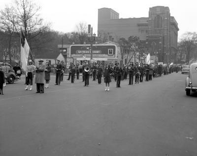 Appleman, Hyman, Parade--Fulton Street
