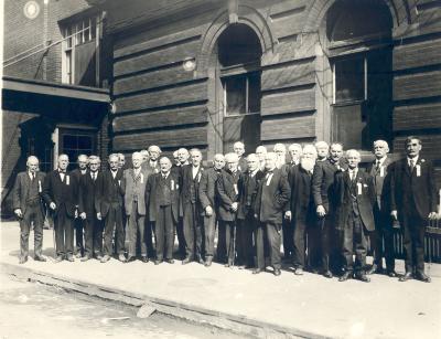 Civil War Veterans of the Michigan 21st Infantry