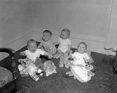 Aquinas College, Mary's Day--Four infants