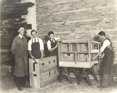 Ottawa Hills School Shop Students