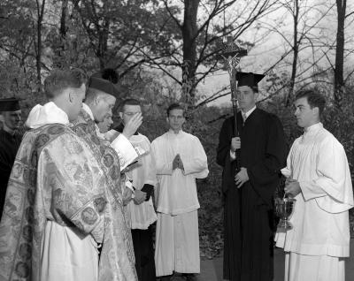 Aquinas College, Rosary procession