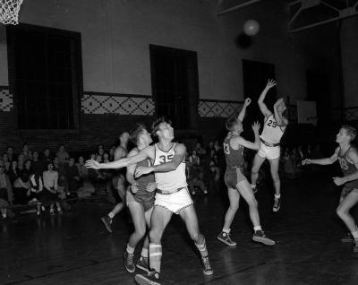 Aquinas College, vs. Benton Harbor Junior College basketball