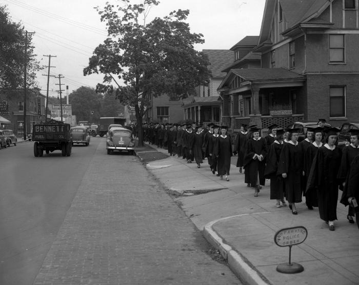 Aquinas College, Graduation at Eastown Theater