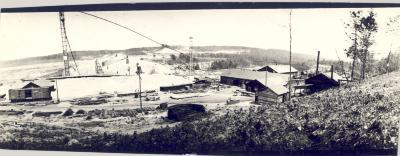 Hardy Dam Construction