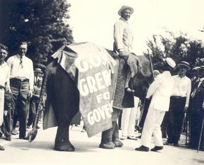 Political Campaign Parade