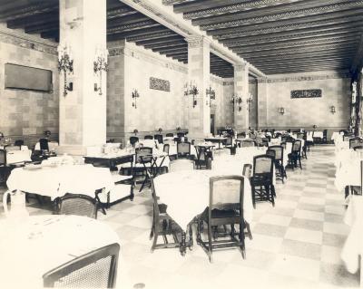 Rowe Hotel Dining Room, Interior