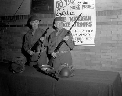 Armory, Men and Equipment