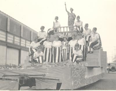 Political Campaign Parade Float