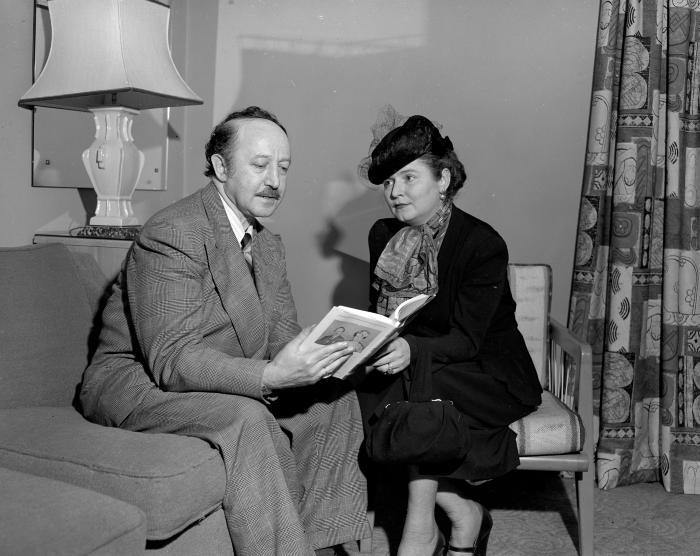 Auslander, Poet and wife