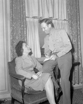 Gene Autry at Pantlind