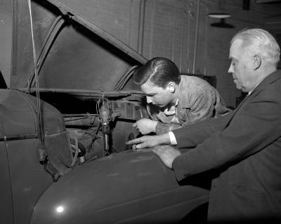 Auto Mechanics, Retiring Instructor