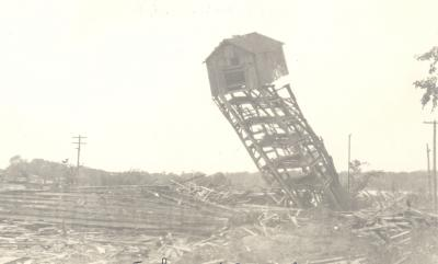Razing of the Reed's Lake Ice Houses