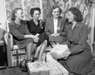 Baker, Margaret, Bridal shower
