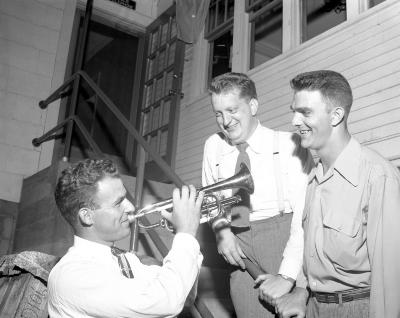 Band Reunion, 126th Infantry at Burt's Terrace