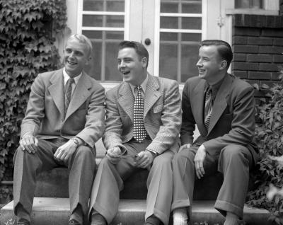Ballard house, three boys