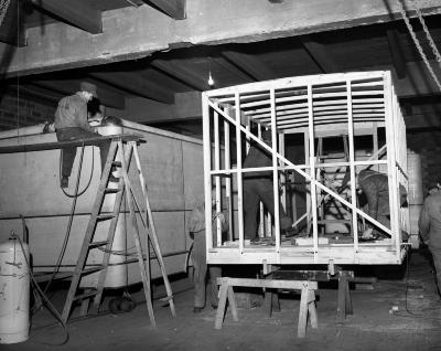 Barclay Wagon Works, Interior