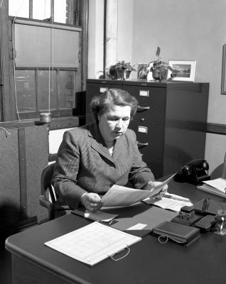 Barnes, Miss, Board of Education office